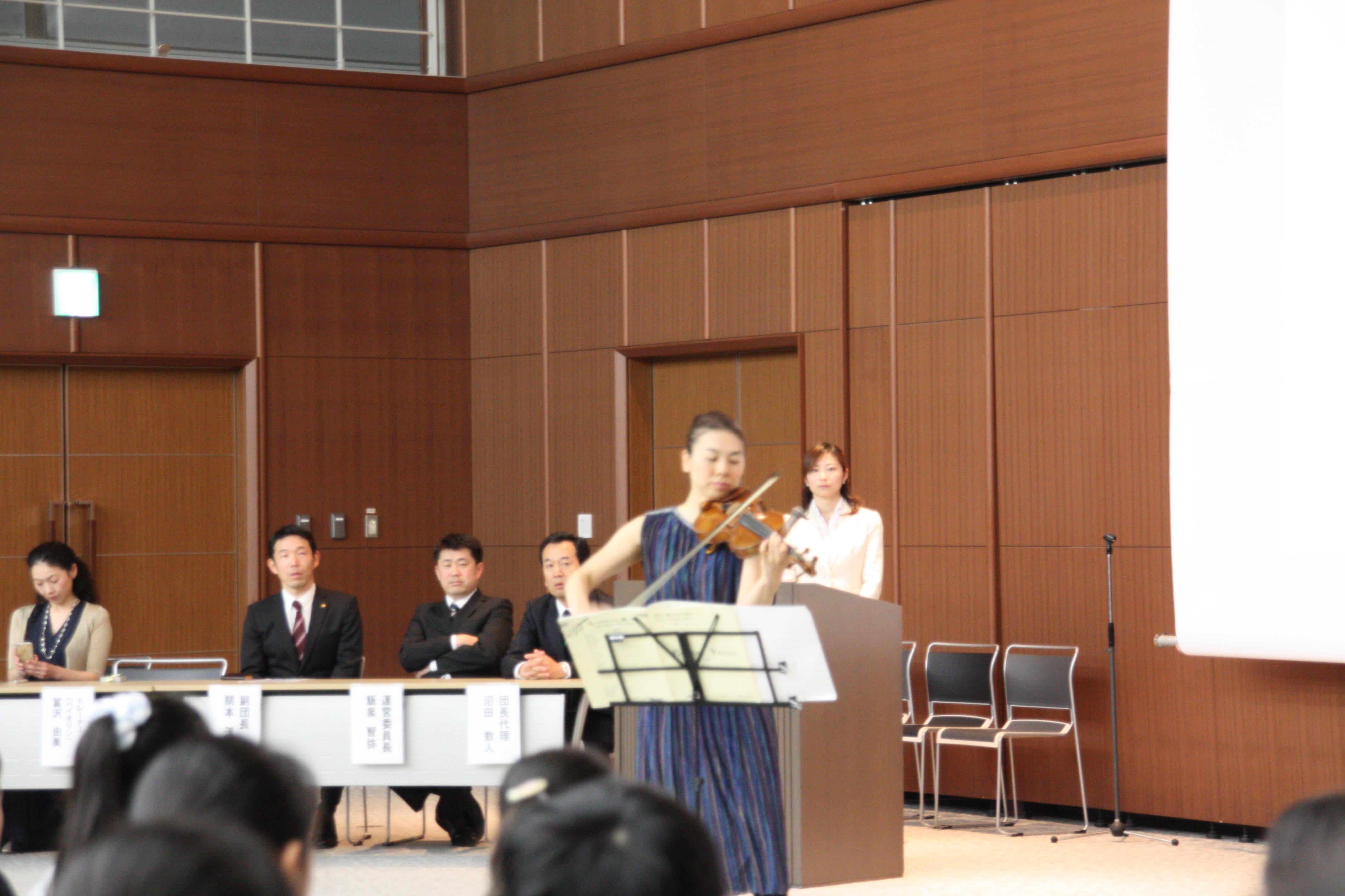 2017年3月26日筑波ジュニアオーケストラ入団式